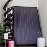 Solarpakete  mit F lachkollektoren